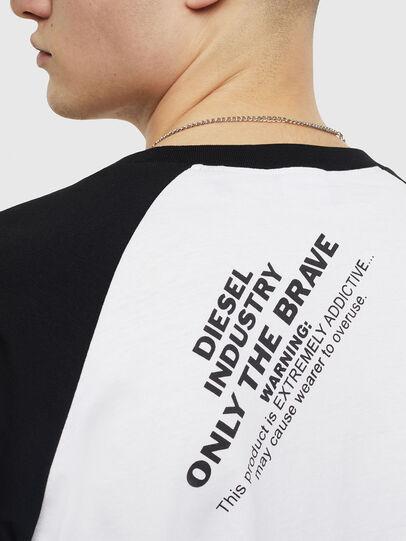 Diesel - T-RODDI, White/Black - T-Shirts - Image 4