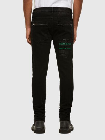 Diesel - D-Amny 009HB, Black/Dark grey - Jeans - Image 2