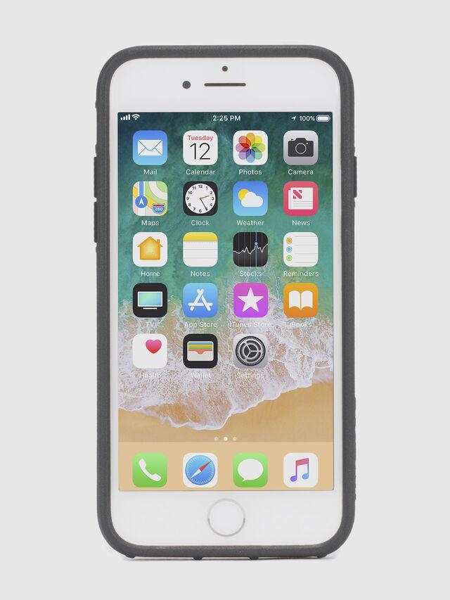 MOHICAN HEAD DOTS BLACK IPHONE 8 PLUS/7 PLUS/6s PLUS/6 PLUS CASE, Black