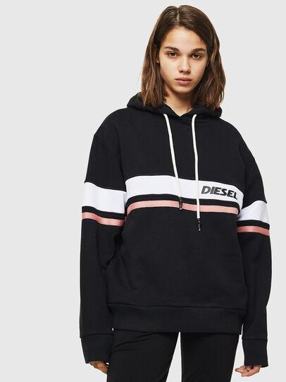 Diesel - UFLT-PHYLO-HOOD, Black - Sweaters - Image 1