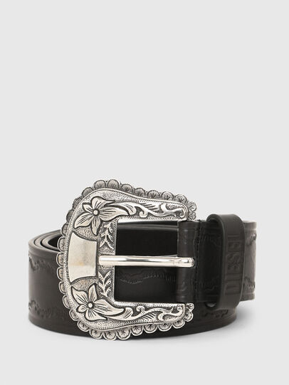 Diesel - B-WEST, Black - Belts - Image 1