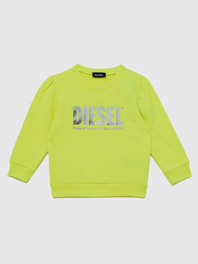 Diesel - SVELIB-R, Yellow - Sweaters - Image 1
