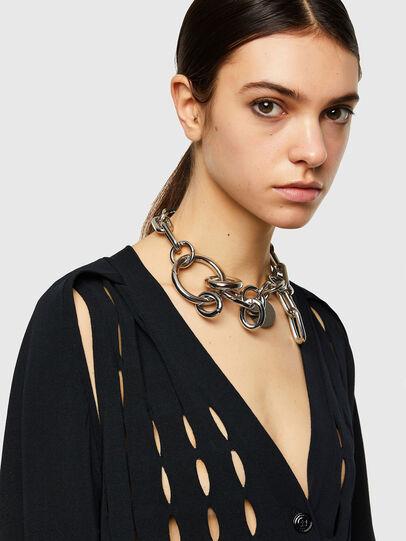Diesel - M-ONYX, Black - Knitwear - Image 3