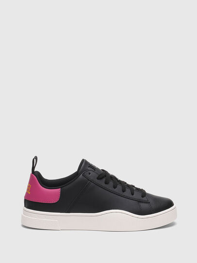 Diesel - S-CLEVER LOW LACE W, Black/Pink - Sneakers - Image 1