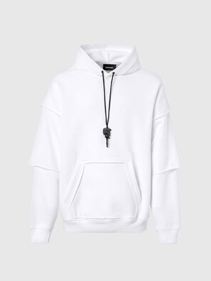S-UBBER-A1, White - Sweaters