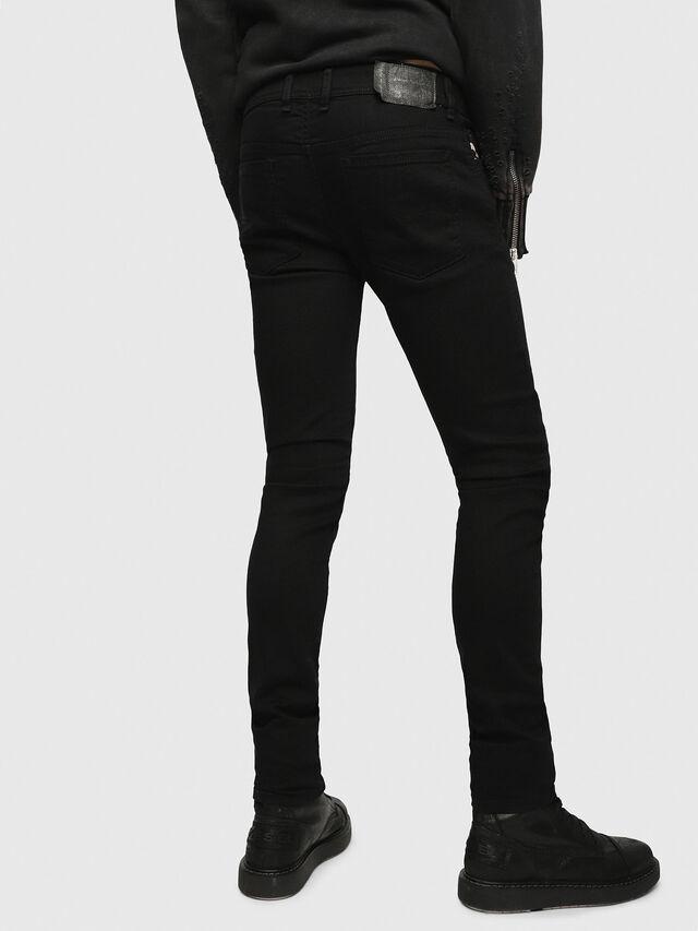 Diesel - Sleenker 0886Z, Black/Dark grey - Jeans - Image 2