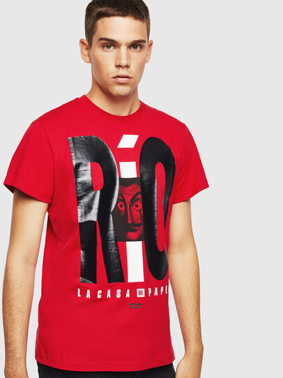 Diesel - LCP-T-DIEGO-RIO, Red - T-Shirts - Image 1