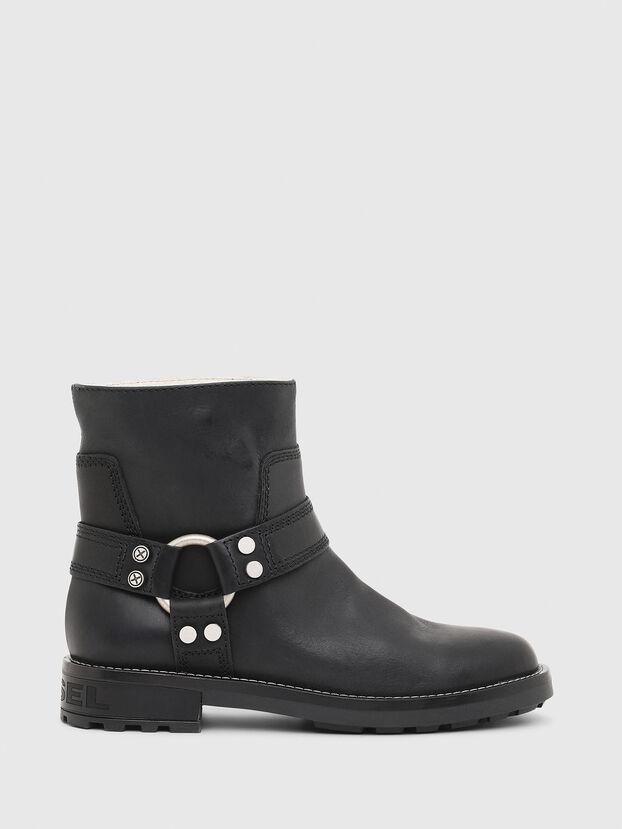 D-THROUPER AB W, Black - Ankle Boots