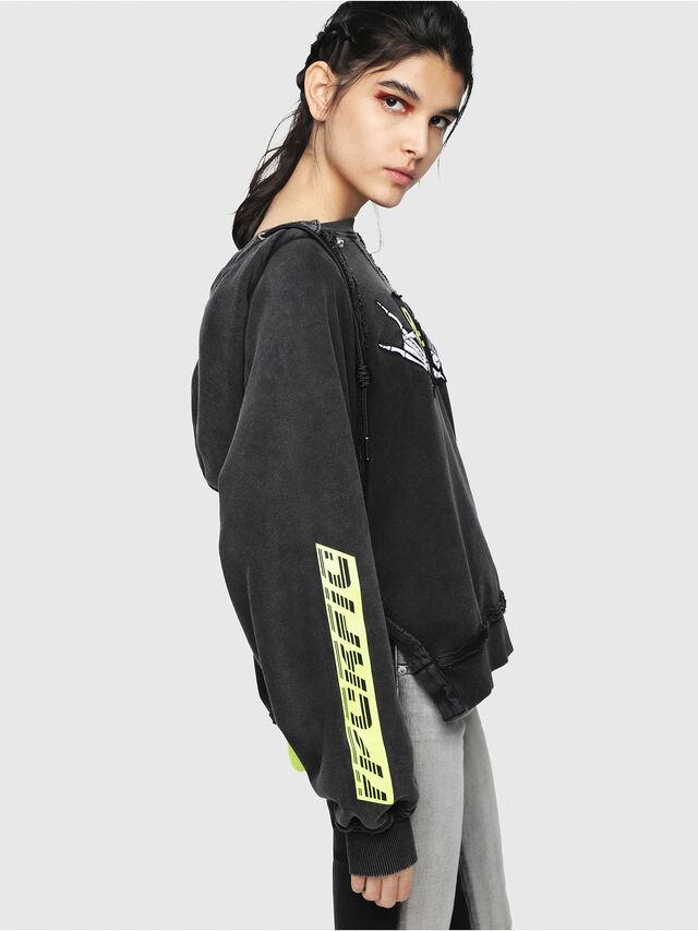 Diesel - F-CAROL, Black - Sweaters - Image 3