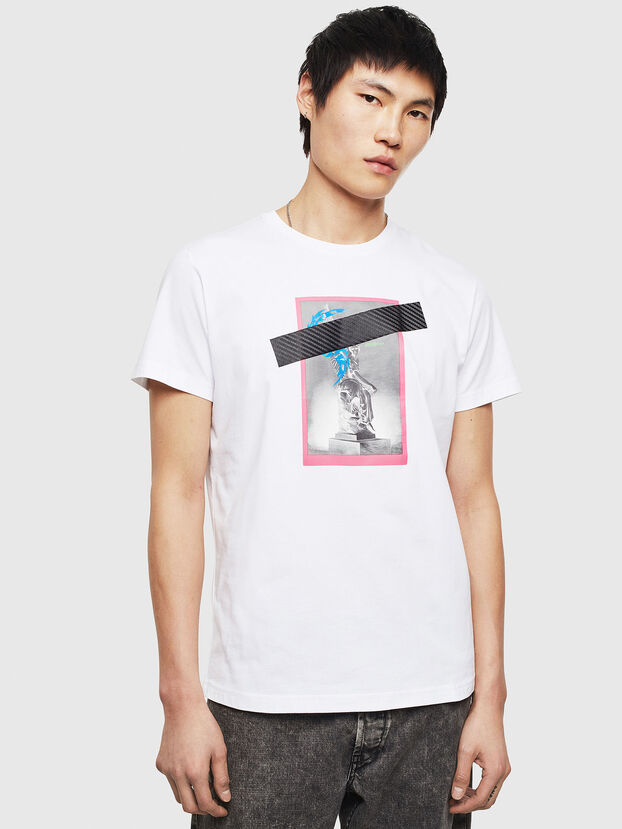T-DIEGO-S8, White - T-Shirts