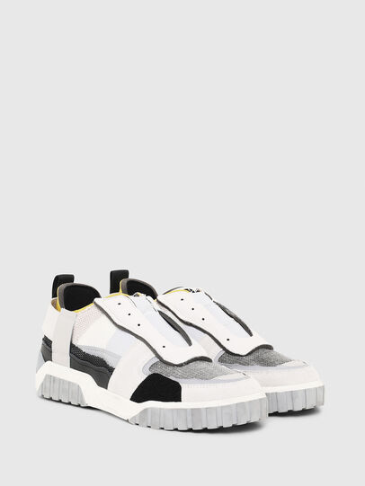 Diesel - S-RUA LOW DEC, White - Sneakers - Image 2
