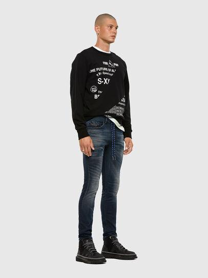 Diesel - Thommer JoggJeans 069NT, Dark Blue - Jeans - Image 5