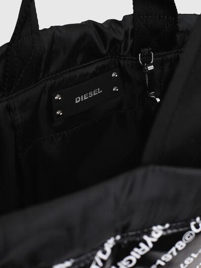 Diesel - COPYBACK, Black/White - Backpacks - Image 4