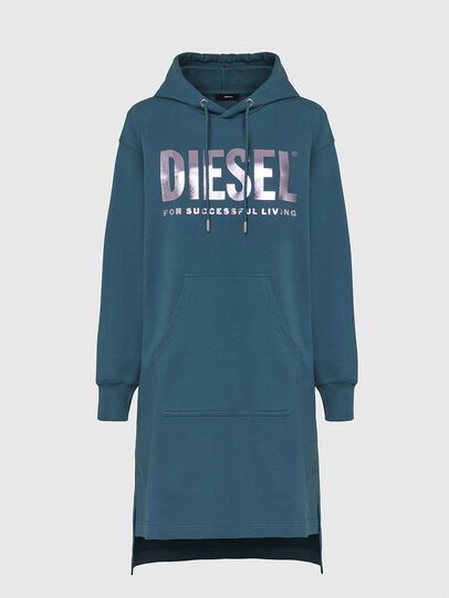 Diesel - D-ILSE-T, Water Green - Dresses - Image 1