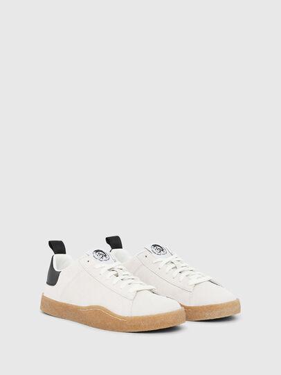 Diesel - S-CLEVER PAR LOW, White/Black - Sneakers - Image 2