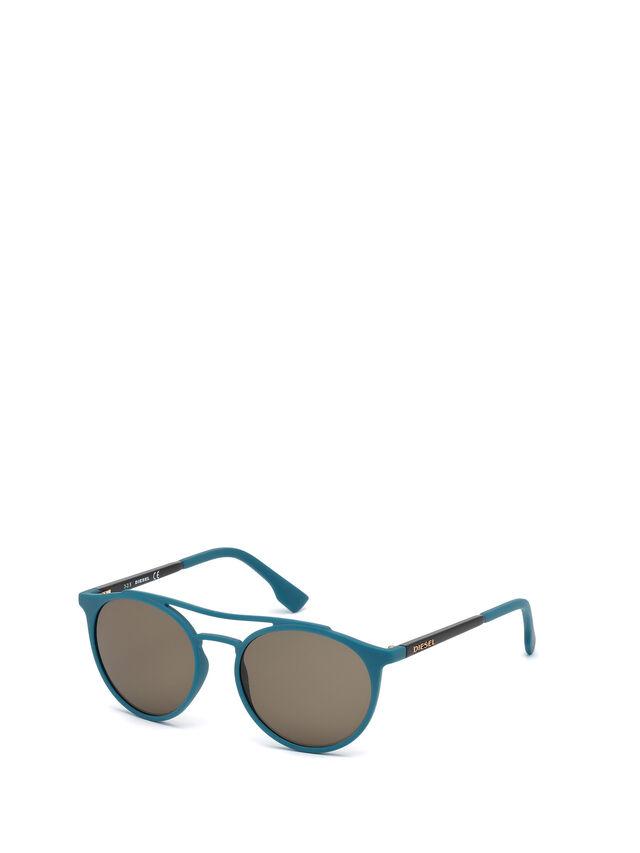 Diesel - DM0195, Blue - Sunglasses - Image 4