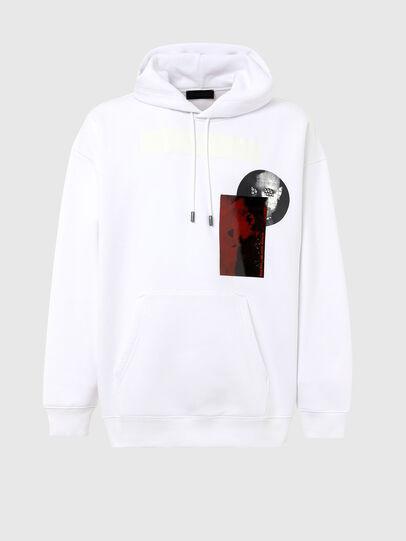 Diesel - S-HENON, White - Sweaters - Image 1