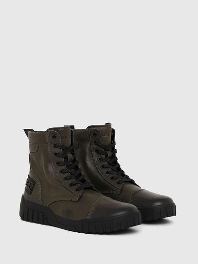 Diesel - H-RUA AM, Military Green - Sneakers - Image 2