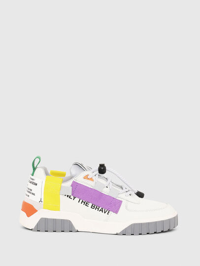 Diesel - S-RUA LOW SP W, White - Sneakers - Image 1