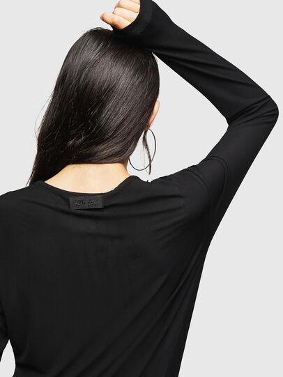 Diesel - D-RIBONET, Black - Dresses - Image 4