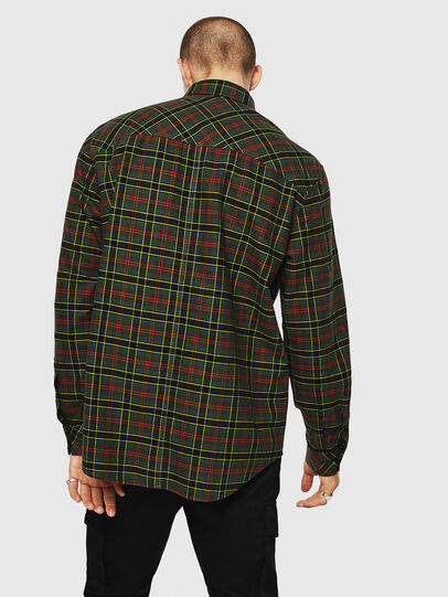 Diesel - S-TOLSTOJ, Dark Green - Shirts - Image 2