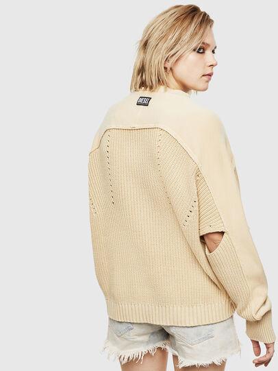 Diesel - M-SUNNY, Beige - Knitwear - Image 2