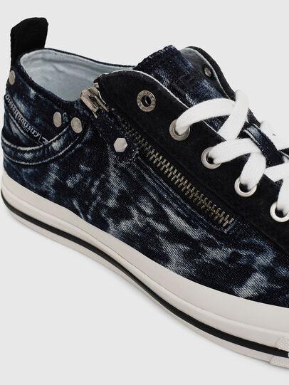 Diesel - EXPO-ZIP LOW W, Dark Blue - Sneakers - Image 4