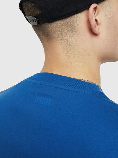 Diesel - T-JUST-T23, Blue - T-Shirts - Image 4