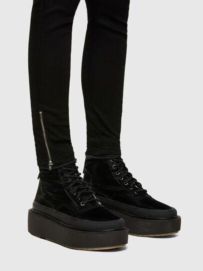 Diesel - Slandy Low 069EF, Black/Dark grey - Jeans - Image 3