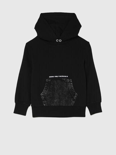 Diesel - STHOS OVER, Black - Sweaters - Image 1