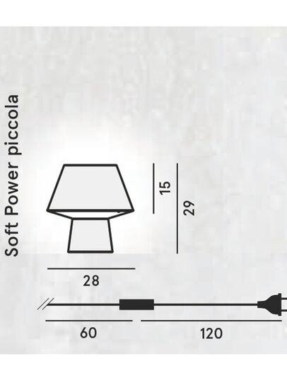 Diesel - SOFT POWER PICCOLA,  - Table Lighting - Image 2