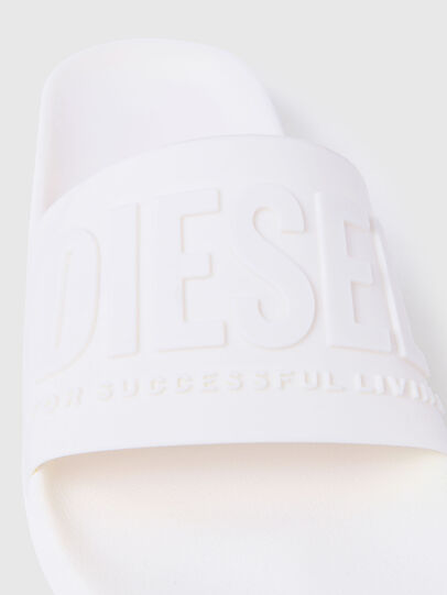 Diesel - SA-MAYEMI, White - Slippers - Image 6