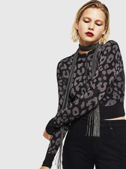 Diesel - M-SETTY, Black - Knitwear - Image 1