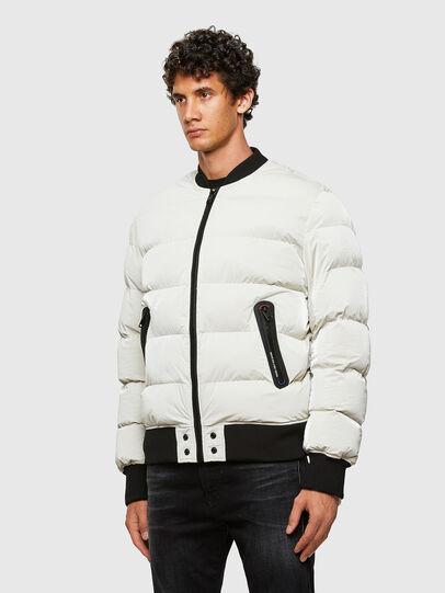 Diesel - W-ON-A, White - Winter Jackets - Image 7