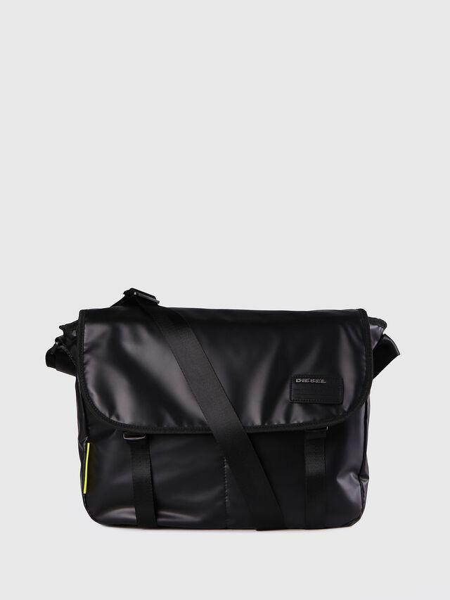 Diesel F-DISCOVER MESSENGER, Black - Crossbody Bags - Image 1