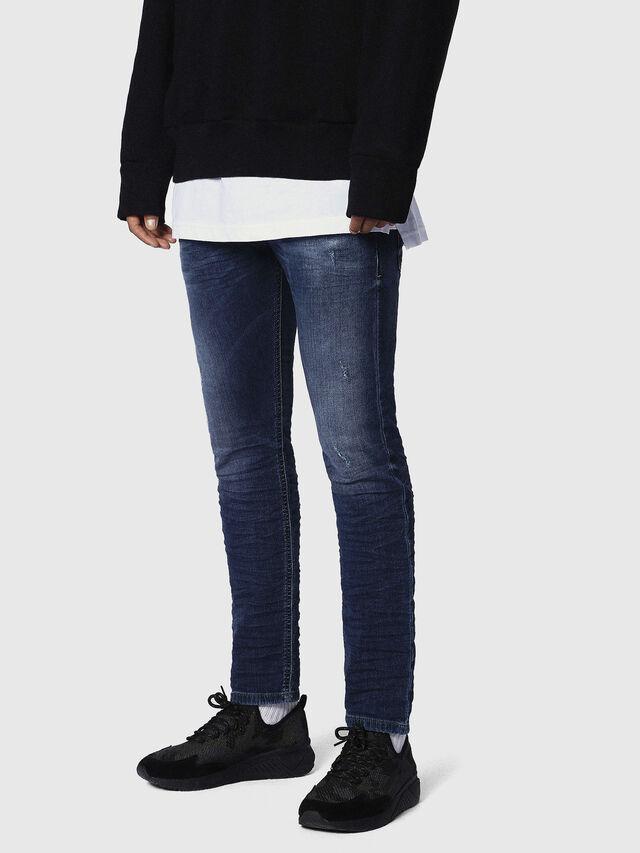 Diesel - Krooley JoggJeans 0686W, Dark Blue - Jeans - Image 3