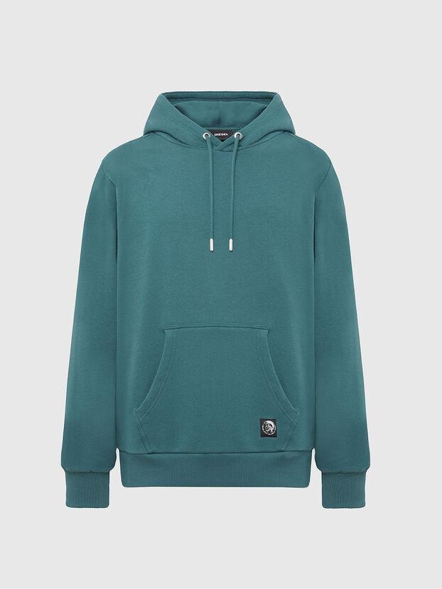 S-GIRK-HOOD-MOHI, Water Green - Sweaters