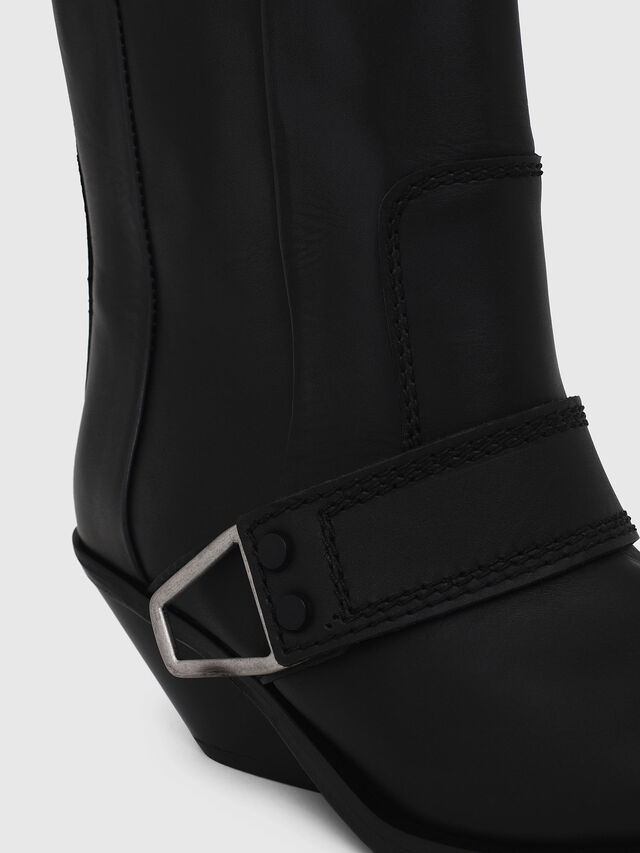 Diesel - D-GIUDECCA MA, Black - Ankle Boots - Image 4