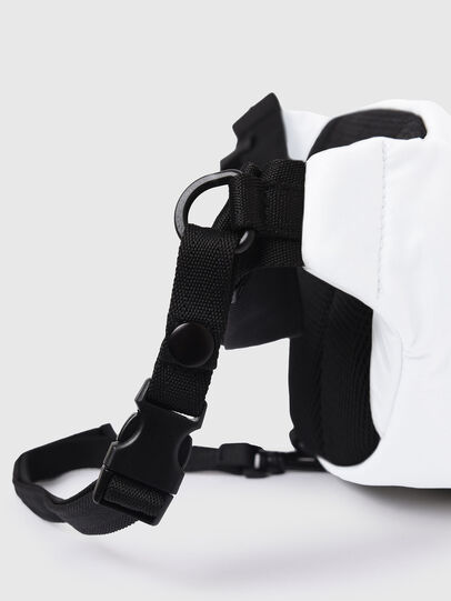 Diesel - F-URBHANITY BUMBAG, White - Belt bags - Image 6