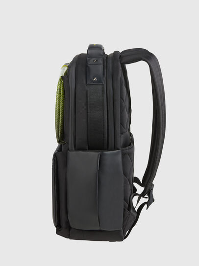 "Diesel - ""KB1*19001 - OPENROA, Black/Yellow - Backpacks - Image 4"
