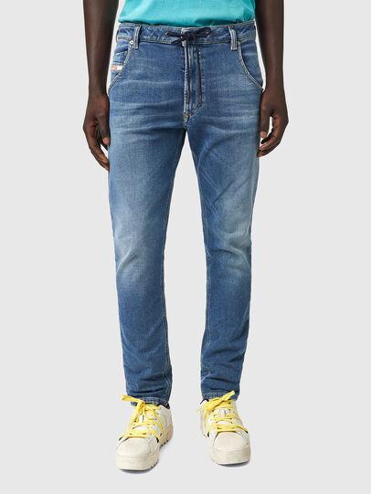 Diesel - Krooley JoggJeans® Z69VK, Medium blue - Jeans - Image 1