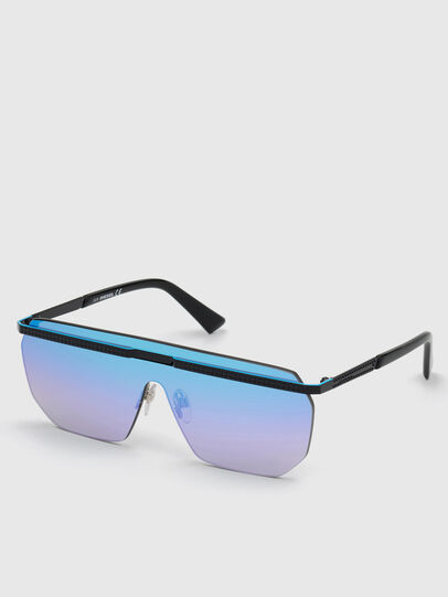 Diesel - DL0259, Blue - Sunglasses - Image 2