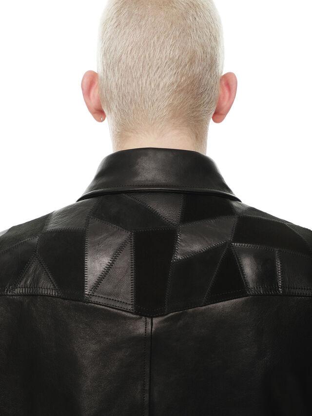 Diesel - LASTREET, Black - Leather jackets - Image 5