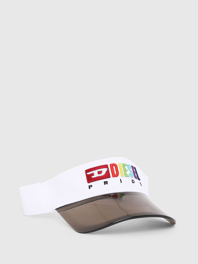 Diesel - VISOR-MAX, White - Underwear accessories - Image 1