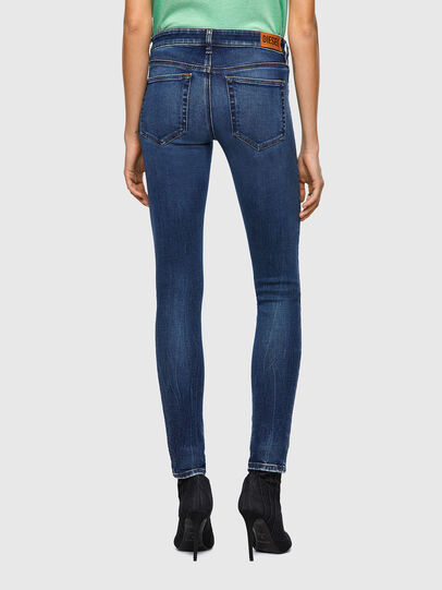 Diesel - Slandy Low 009ZX, Dark Blue - Jeans - Image 2