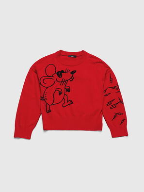 CL-M-TESS, Red - Knitwear