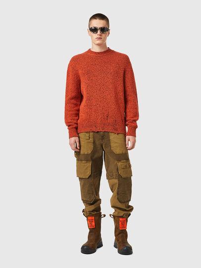 Diesel - K-EVANS, Orange - Knitwear - Image 4