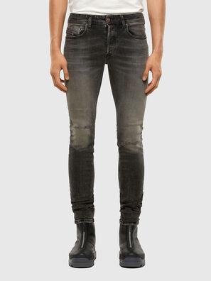 Sleenker 009JF, Black/Dark grey - Jeans