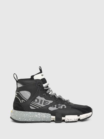 Diesel - S-PADOLA MID TREK, Black/Grey - Sneakers - Image 1