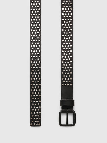 Diesel - B-GOUJONS, Black - Belts - Image 3